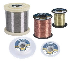 Spools and bobbins for Malin stainless steel wire