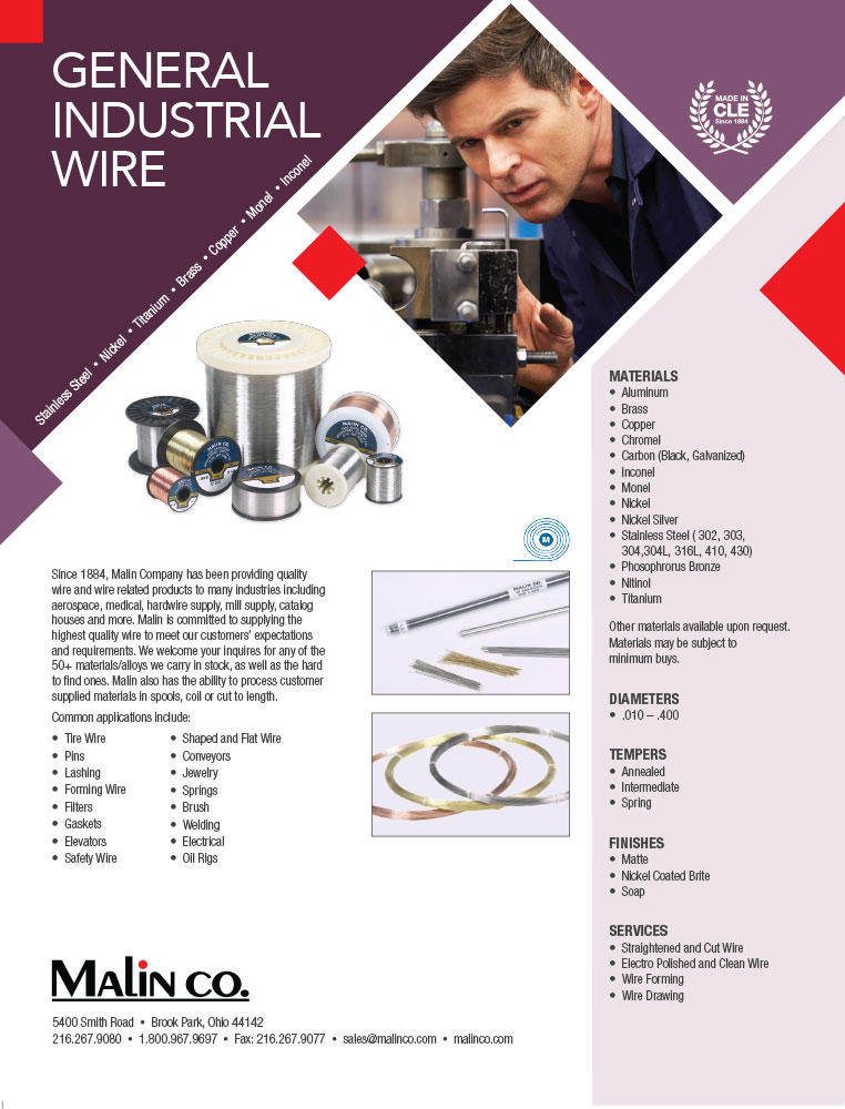 wholesale prices of malin monel wire