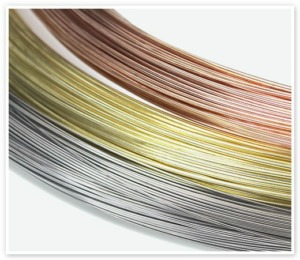 Nickel, copper, and stainless steel wire from Malin